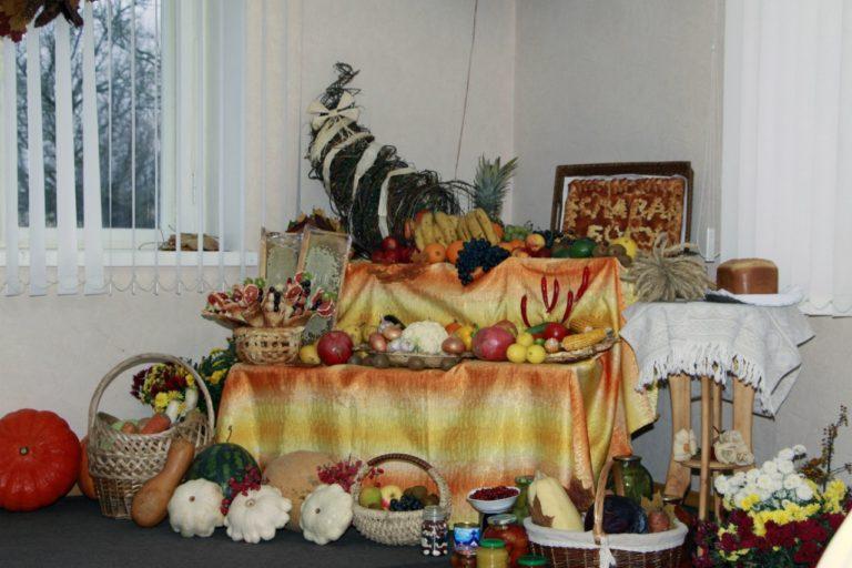 В день жатвы, день Благодаренья…