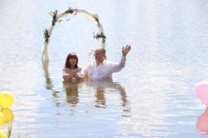 Завет с Господом посредством водного крещения