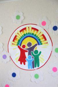 Папа, мама, я – христианская семья!