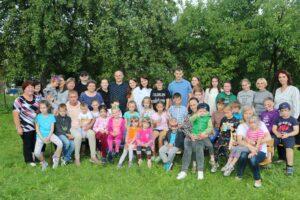 Летний праздник для детей из Воскресной школы